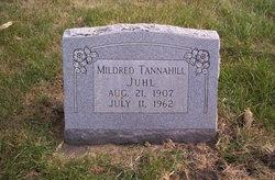 Mildred Mary <I>Tannahill</I> Juhl