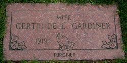 """Gertrude L. """"Gert"""" <I>Turcotte</I> Gardiner"""