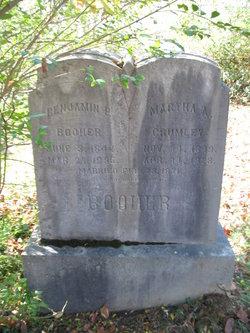 Martha A. <I>Crumley</I> Booher