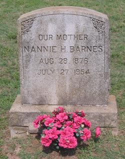 Nannie L <I>Harrison</I> Barnes