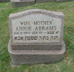 Annie Abrams