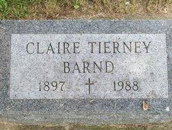 Helen Claire <I>Tierney</I> Barnd