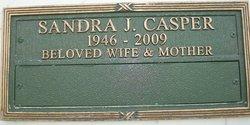 Sandra Jean <I>Taylor</I> Casper