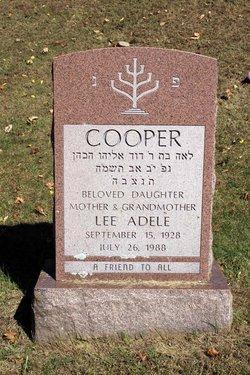 Lee Adele <I>Ritz</I> Cooper