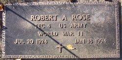 Robert A Rose