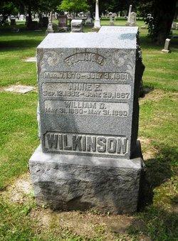 Frank S Wilkinson