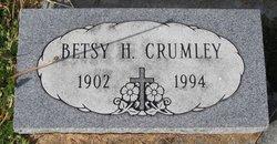 Betsy H Crumley