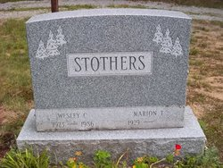Marion T Strothers