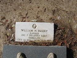 William H Bussey