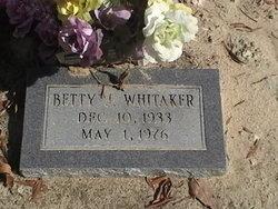 Betty J Whitaker