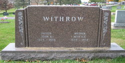 John A Withrow