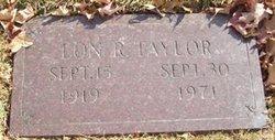 Lon R. Taylor