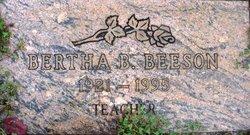Bertha B Beeson