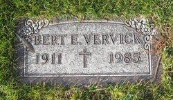Bert E Vervick