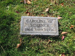 Caroline W <I>Holmes</I> Schenck