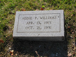Addie P. Williams