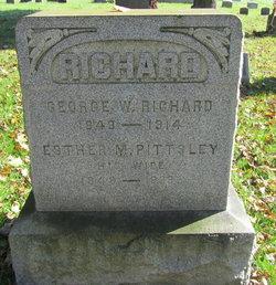 Esther M. <I>Pittsley</I> Richard