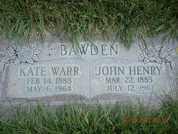 John Henry Bawden