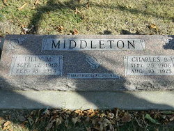Lilly Maudelle <I>Ellis</I> Middleton