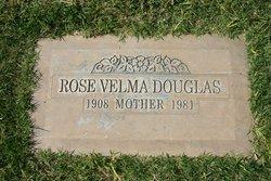 Rose Velma <I>Ellington</I> Douglas