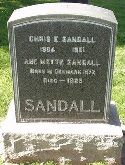 Chris E Sandall