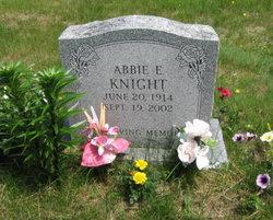 Abbie E Knight