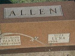 Lena <I>Davis</I> Allen