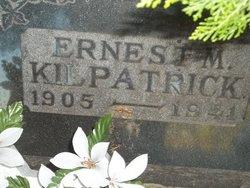 Ernest M Kilpatrick