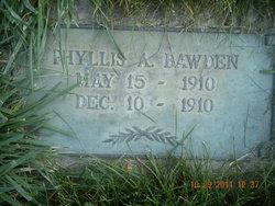 Phyllis A Bawden