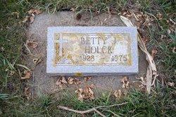 Betty J Holck