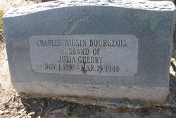 Charles Tousin Bourgeois