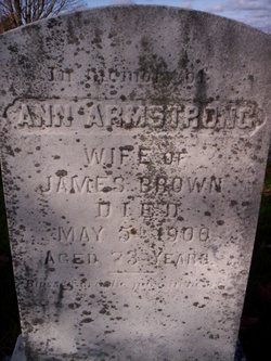 Ann <I>Armstrong</I> Brown