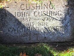 """Catherine """"Kate"""" <I>Lynett</I> Cushing"""