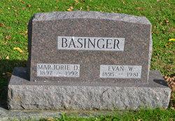 Marjorie D Basinger