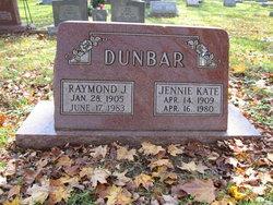 Jennie Kate <I>Ferguson</I> Dunbar