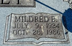 Mildred Bernice <I>Vines</I> Dudney