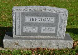 E Eugene Firestone