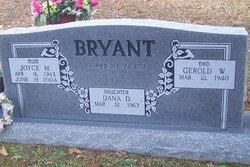 Joyce Marie <I>Sherrell</I> Bryant