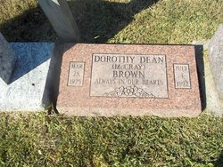 Dorothy Dean <I>McCray</I> Brown