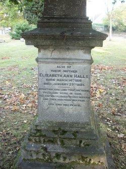 Elizabeth Ann Halls
