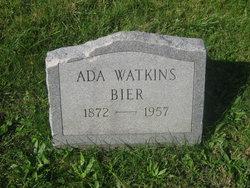 Ada Isabella <I>Watkins</I> Bier
