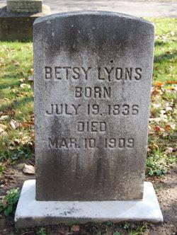 Betsy <I>Freeman</I> Lyons