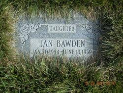 Jan Bawden