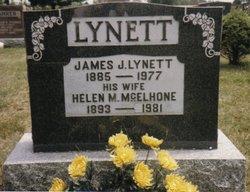 """Helen Marie """"Nellie"""" <I>McElhone</I> Lynett"""