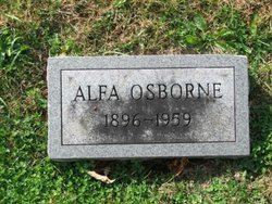 Alfa Faye <I>Williams</I> Osborne