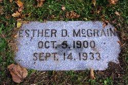 Esther D. <I>Lystlund</I> McGrain