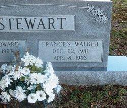Frances <I>Walker</I> Stewart