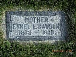 Ethel Druce <I>Lambert</I> Bawden