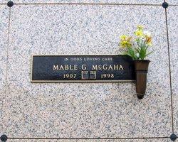 "Janie Maybelle ""Mable"" <I>Groves</I> McGaha"