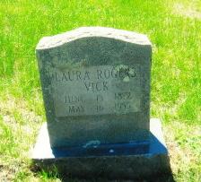 Laura <I>Rogers</I> Vick